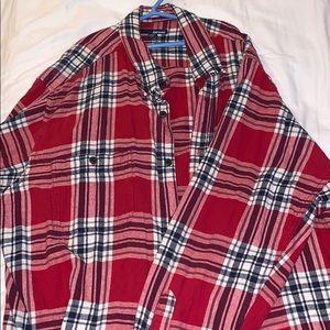 Red Vintage Flannel